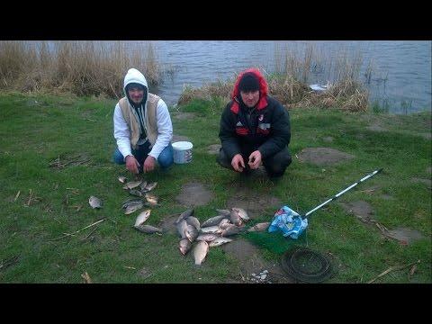 ловля риби на річці відео