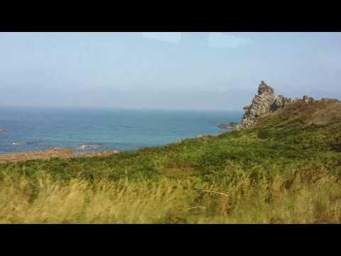 Bus ride around Alderney, Channel Islands