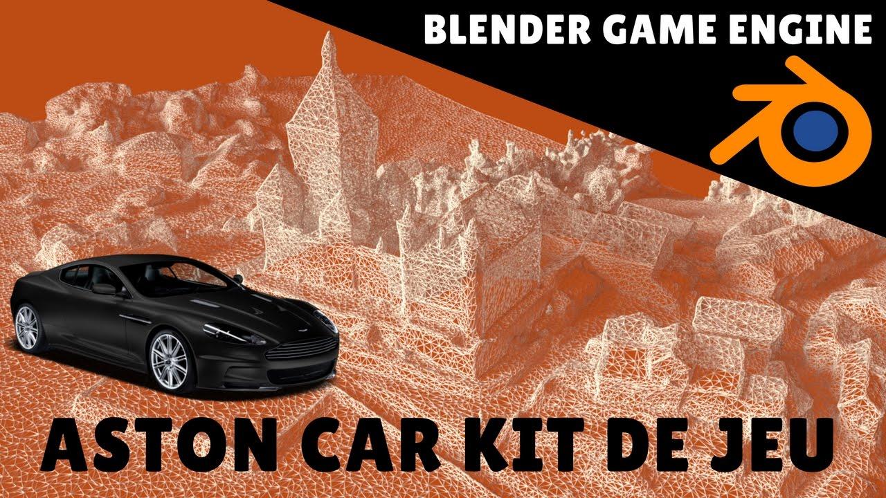 Blender game engine - Car kit - Blender 3D - video tutorials and