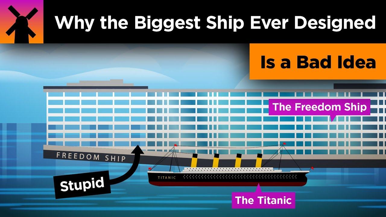 Why the World's Biggest Ship is an AWFUL Idea