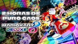 2 Horas de Puro Caos en Mario Kart 8 Deluxe   3GB Casual