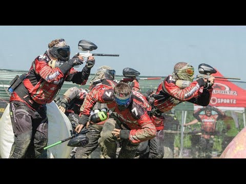 Mid-South Xball League Ohio Open Paintball 2017 | Music by Rise Against | Spantastik x PbNation