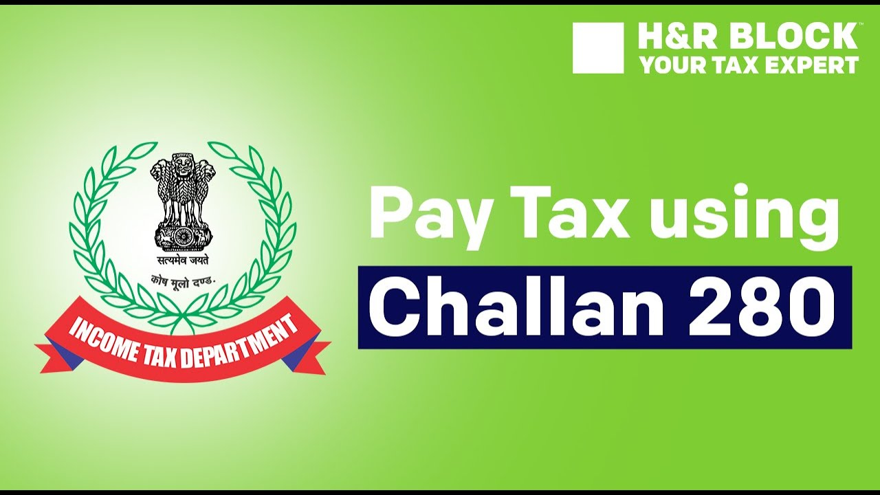 How to Pay Income Tax Online using Challan 280