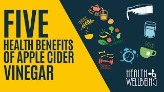 five 5 health benefits of apple cider vinegar