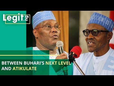 Between Buhari's Next Level And Atikulate - Nigerians React| Legit TV
