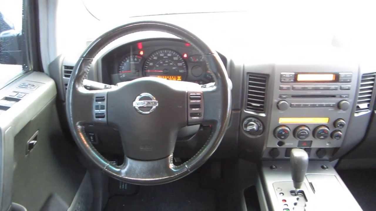 2007 Nissan Armada, Deep Water Blue   STOCK# 29699A   Interior