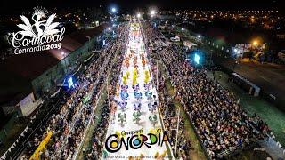 Cuarto desfile del Carnaval de Concordia