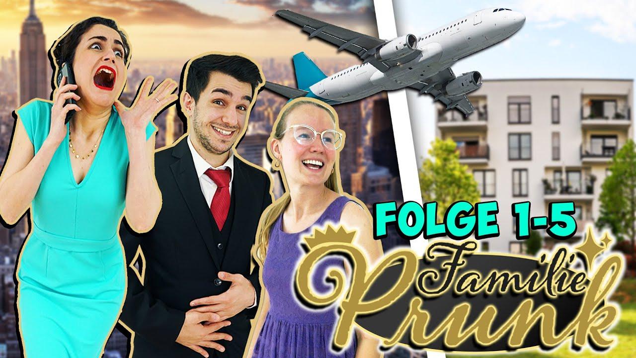 FAMILIE PRUNK: FRISCH AUS NEW YORK! Wie kann man nur so verwöhnt sein?! Folgen 1-5 | Familie Prunk