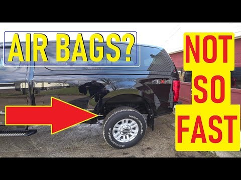 RV Towing with Airbags❓ Might be bad 🙄