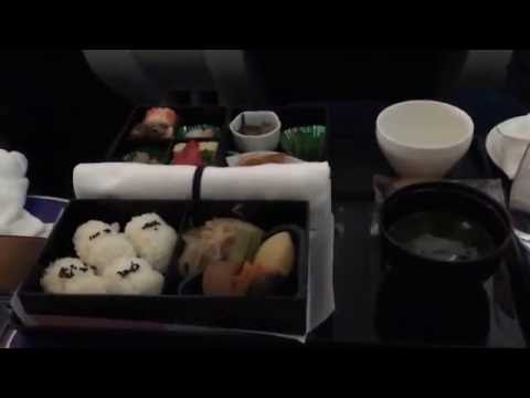 ANA All Nippon Airways Business Class Boeing 787 Dreamliner short haul Aircraft from Manila to Tokyo