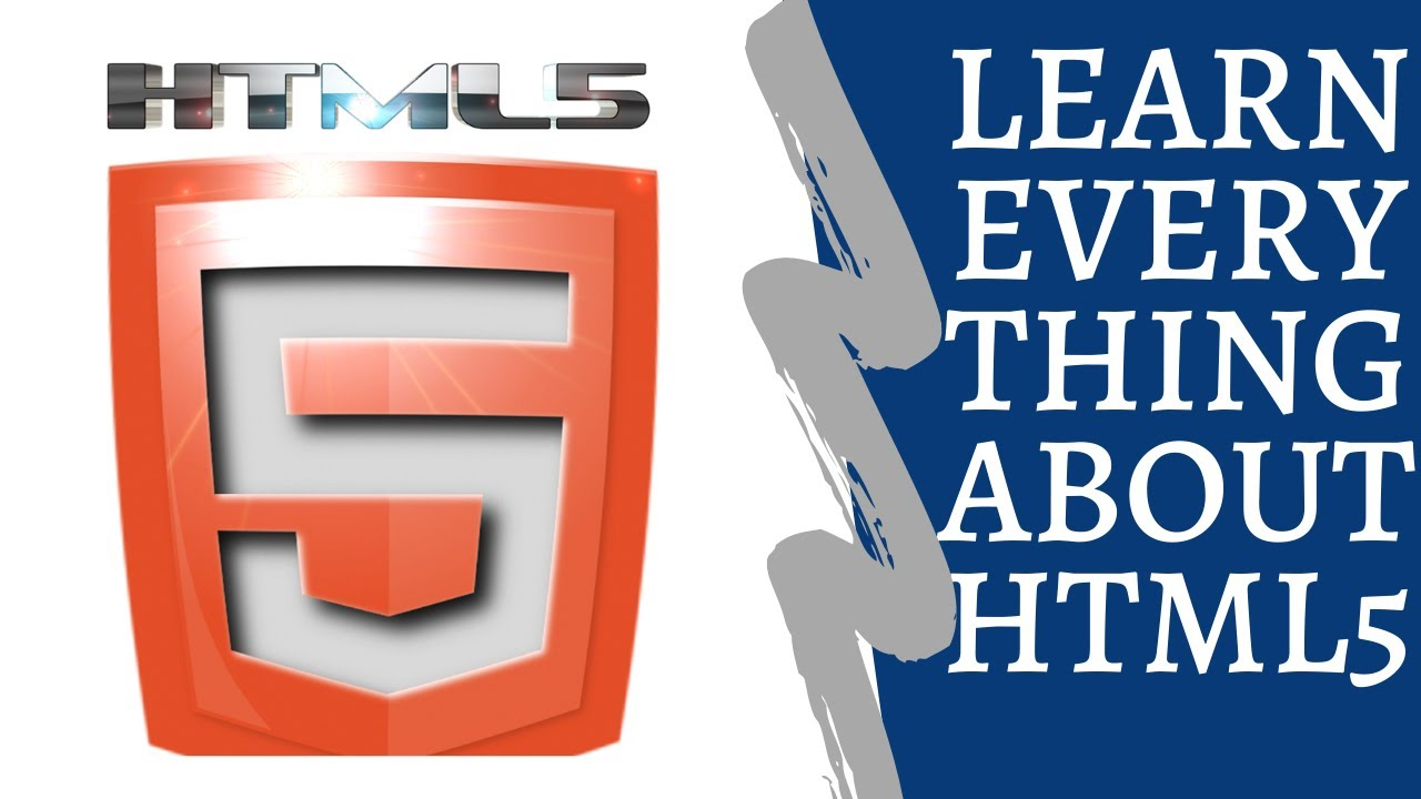 Learn Everything About Html5 | HTML 5 CRASH COURSE
