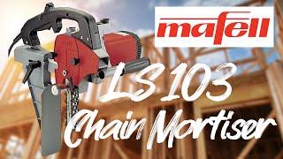 Mafell Portable Chain Mortiser Demonstration