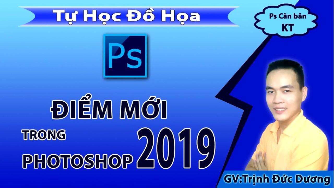 Photoshop 2019 – Những tính năng mới trong photoshop 2019 | Tự Học Đồ Hoạ