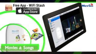 Merlin Wi-Fi Hub (Wi-Fi расширитель для USB дисков и карт памяти)(, 2013-08-28T11:11:14.000Z)