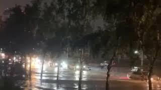 Потоп в Новосибирске 01.06.2020