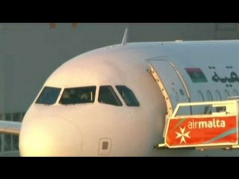 Hijackers of Libyan plane surrender, have been arrested