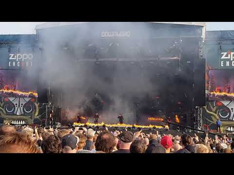 Parkway drive Download festival 2018