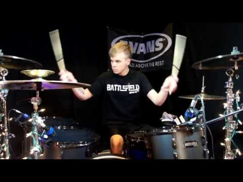 Fall Out Boy - Just One Yesterday (featuring Foxes) - Drum Cover - Brooks