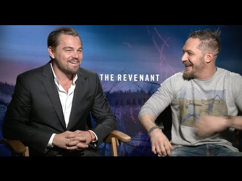 Leonardo DiCaprio and Tom Hardy interview for THE REVENANT