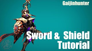 MH4G/MH4U: Sword and Shield Tutorial