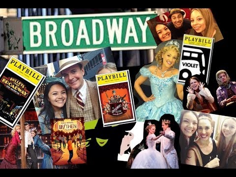 Lily and Sarina's Broadway Adventure!