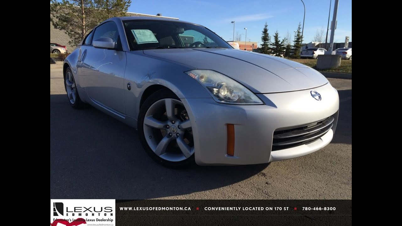 Used Silver 2006 Nissan 350Z Auto Performance Review Vegreville ...