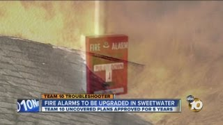 Sweetwater Union High School District makes fire alarm upgrades