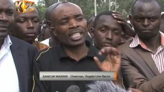 At least 4 people dead, several injured as matatu veers off, overturns on Lang'ata road
