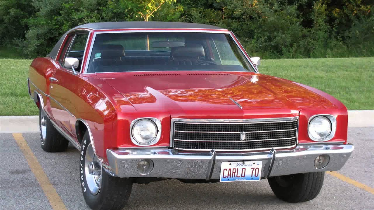1970 chevy monte carlo - YouTube