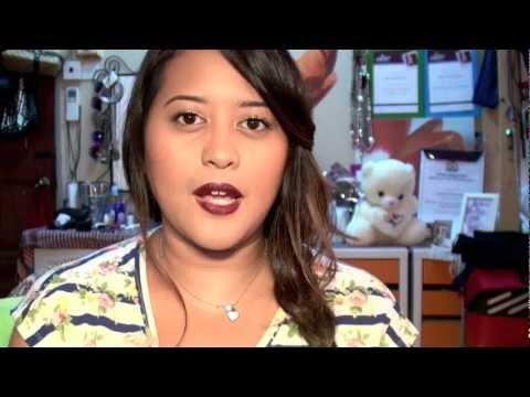 MAKEUP FOREVER HD FOUNDATION: GLOSSY BRIGHT EYES & DARK LIP TUTORIAL