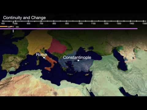 Continuity and Change--Roman Empire vs. Byzantine Empire