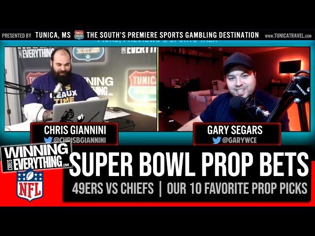 WCE: Super Bowl 54 (Chiefs vs 49ers) Best Prop Bets!