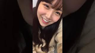 프로듀스48에 출연했던 시로마 미루(白間美瑠)의 2019년 1월 9일자 인스...