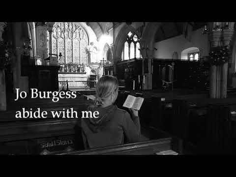 Abide With Me- Jo Burgess (hymn) - YouTube