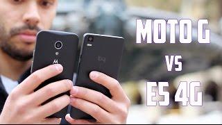 Moto G 2014 vs Bq Aquaris E5 4G