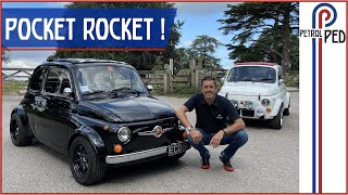 197hp Hayabusa Engined Fiat 500 'Fiabusa' with 11,000 RPM redline by ZCars [Part 1 of 2]