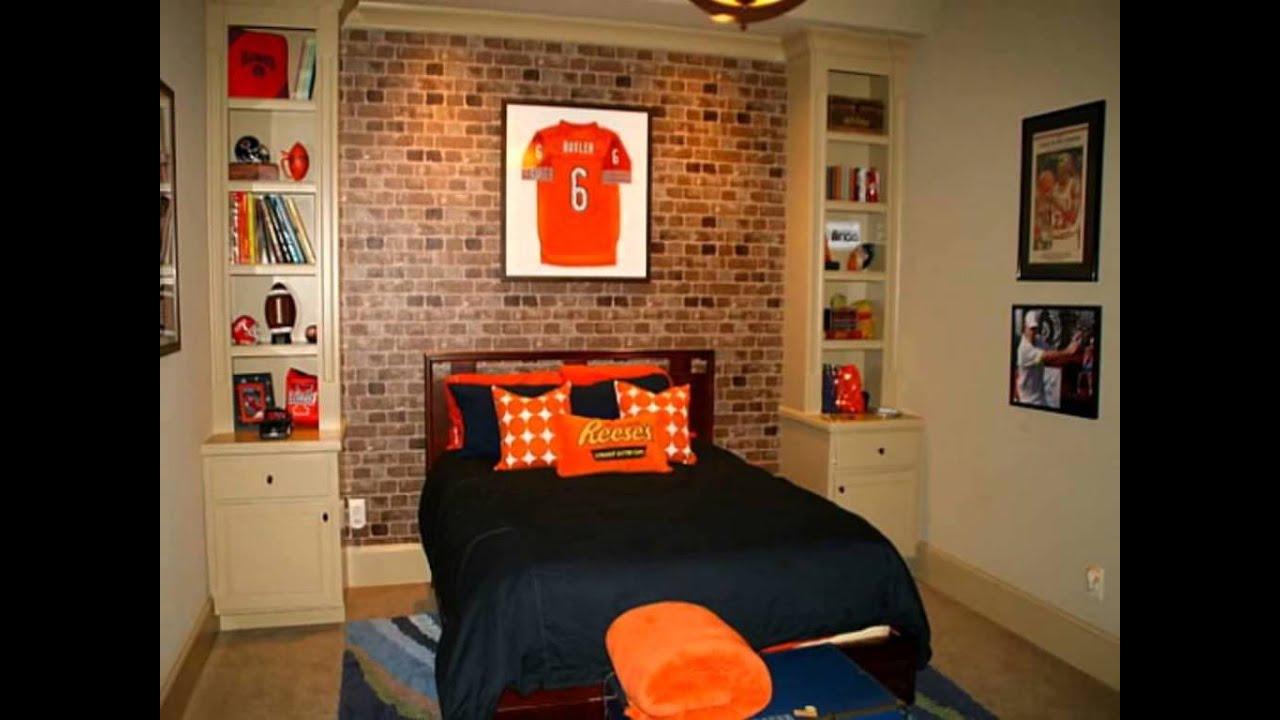 Elegant Sport Bedroom Ideas For Boys