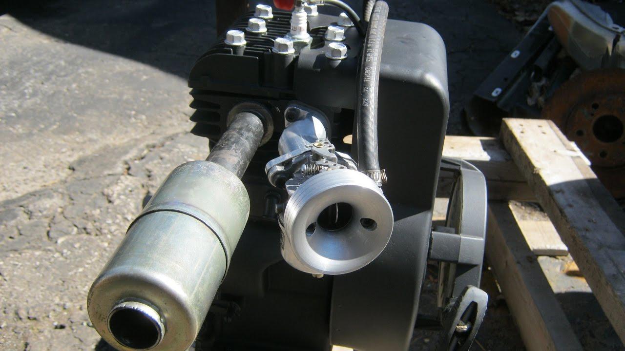 5 Horse Briggs Kart Engine Build up!