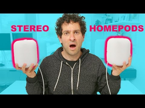 Stereo HomePods sound INSANE | Hands-on review