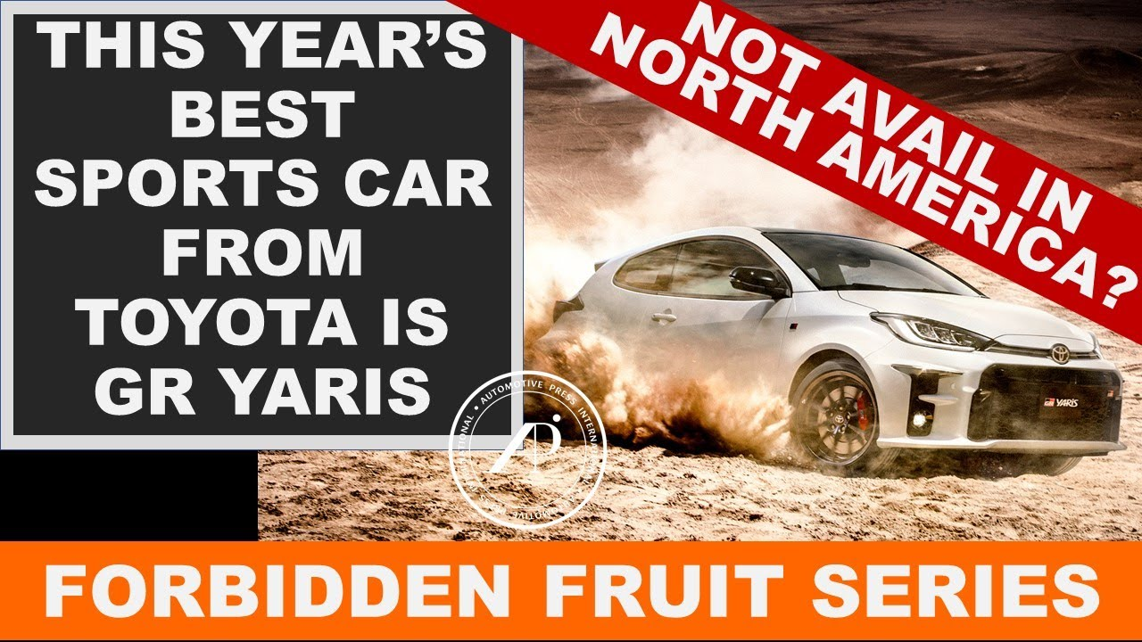The GR Yaris is the best sports car from Toyota this year - but it's not coming to North America.