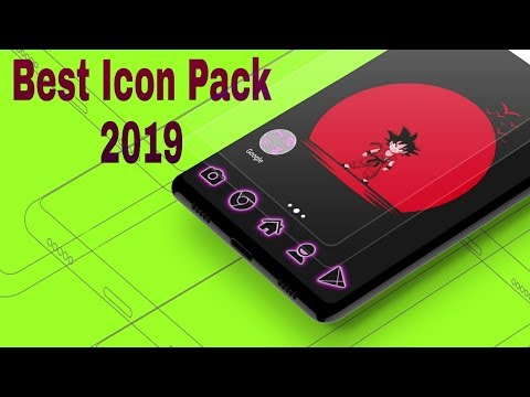 Best Icon Pack for Android 2019    Best Neon Icon Pack 2019 - YouTube