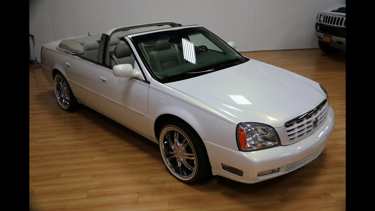 Deez Nuts Cadillac Dts Convertible For Sale Custom