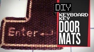Klavye Anahtar Kapı Paspasları - DİY GG