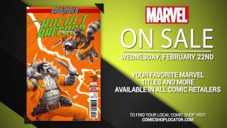 Marvel NOW! Titles for February 22nd