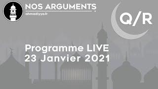 Nos Arguments LIVE - 23 Janvier 2021