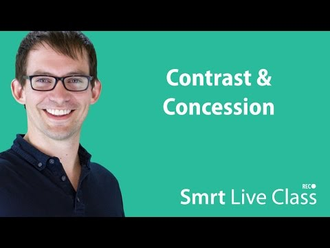 Contrast & Concession - Smrt Live Class with Shaun #32