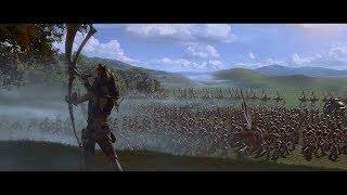 Гунганы отправляются на битву. HD
