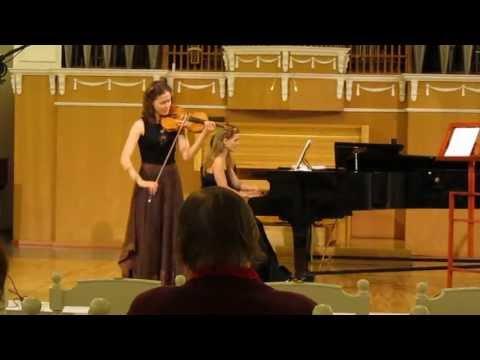 Maryana Osipova | Prokofiev | Mazurka | 3rd Yankelevitch International Violin Competition