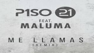 Piso 21 Me Llamas Remix feat. Maluma Audio Oficial.mp3