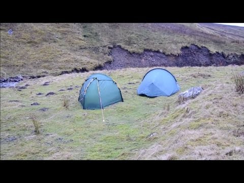 First wild camp with the Hilleberg Soulo